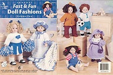 Annie's Attic Crochet Fast & Fun Doll Fashions, Volume Two