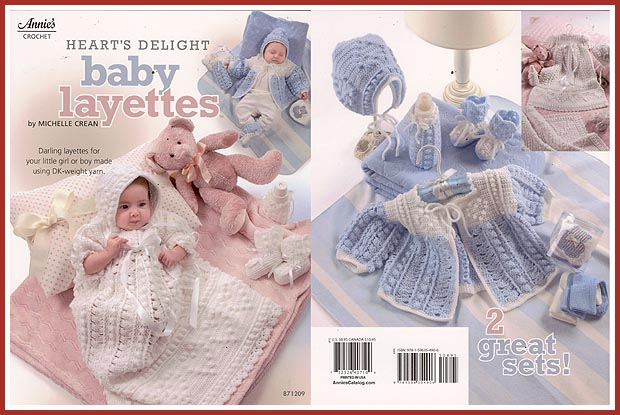 Ravelry: Doreen Baby Set #206 pattern by Nell Armstrong
