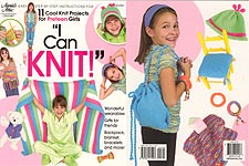 Annie's Attic I Can Knit is geared toward preteen girls.