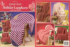 Quick Knit Holiday Lapghans, from Annies Attic