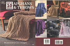 ASN KNIT in 10 Hours: Afghans & Throws