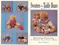 Betty Lampen KNIT Sweaters for Teddy Bears, Book 1