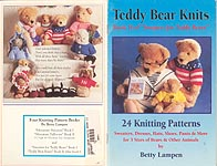 Betty Lampen KNIT Sweaters for Teddy Bears, Book 2