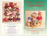 Betty Lampen KNIT Sweaters for Teddy Bears, Book 3