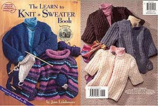 ASN The Learn To Knit a Sweater Book