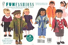 "HWB Fun Fashions: Contemporary Outfits to KNIT for 18"" Dolls"
