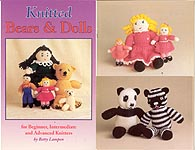 Betty Lampen KNITTED Dolls and Bears