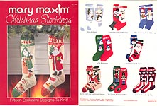 Many Patterns KNITTED STOCKINGS PATTERNS