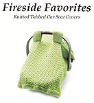 Fireside Favorites KNTTED Tabbed Car Seat Covers