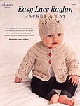 Annie's KNIT: Easy Lace Raglan Jacket & Hat