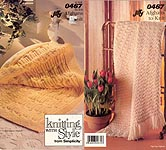 Knitting With Style from Simplicity: 0467 Jiffy Afghans to Knit