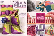 Annie's Afghans & Bed Runners for KNITTING Looms