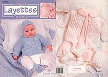 Leisure Arts Sweet Layettes to KNIT
