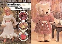 KNIT ShariAne Designs Inc. Bears & Belles
