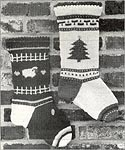 The NeedleWorks KNIT Country Christmas Stockings
