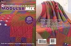 Annie's Modular Mix: 12 KNITTED Mitered Squares to Mix & Match
