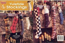 Annie's Attic KNIT Yuletide Stockings