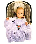 Fireside Favorites Infant KNITTED Car Seat Covers