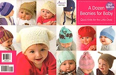 Annie's KNIT A Dozen Beanies for Baby