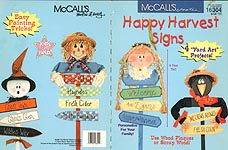 McCall's Creates: Happy Harvest Signs