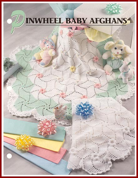 Free Pinwheel Crochet Baby Blanket Pattern : AFGHAN CROCHET PATTERN PINWHEEL FREE PATTERNS
