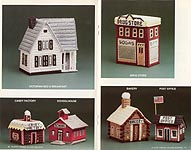 Annies Attic Village Keepers in Plastic Canvas