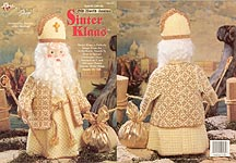 Plastic Canvas Old World Santas: Sinter Klauz