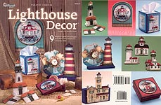 TNC Lighthouse Decor in plastic canvas