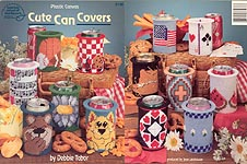 ASN Plastic Canvas Cute Can Covers