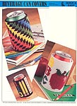 Annie's International Plastic Canvas Club: Beverage Can Covers