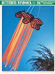 Annie's International Plastic Canvas Club: Butterfly Windsock II (Monarch)