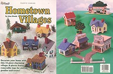 Plastic Canvas Hometown Villages from The Needlecraft Shop