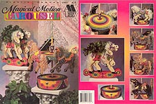 Annie's Attic Plastic Canvas Magical Motion Carousel