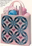 Double Wedding Ring Tote Bag Free Pattern