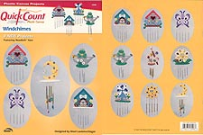 Quick Count Plastic Canvas Windchimes