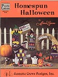 Alma Lynne Plastic Canvas Homespun Halloween