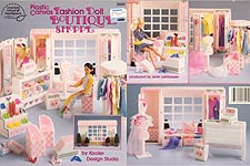 ASN Plastic Canvas Fashion Doll Boutique Shoppe