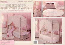 LA Fashion Doll Playhouse Book 2: The Bedroom in Plastic Canvas