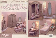 LA Fashion Doll Playhouse Book 3: The Boudoir in Plastic Canvas