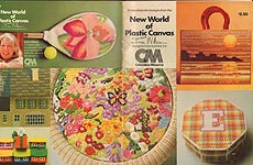 CM The New World of Plastic Canvas by Erica Wilson