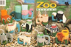 Annie's Attic Plastic Canvas Zoo Keepers