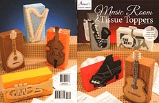 Annie's Plastic Canvas Music Room Tissue Toppers