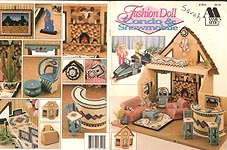 Annie's Attic Fashion Doll Condo & Snowmobile