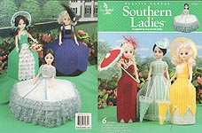 Annie's Attic Plastic Canvas Southern Ladies for 15 inch craft dolls