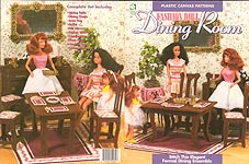 HWB Fashion Doll Fashion Doll Dining Room