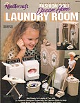 TNS Plastic Canvas Fashion Doll Dream Home Laundry Room