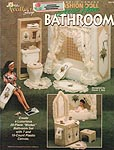 TNS Plastic Canvas Fashion Doll Dream Home Bathroom