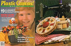 Plastic Canvas! Magazine Number 20, May - June 1992