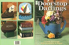 HWB Plastic Canvas Doorstop Darlings