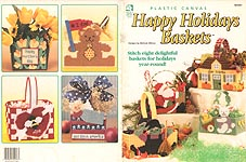 Tummy Ticklers Treat Holders Plastic Canvas Pattern 6 Designs Easter Halloween